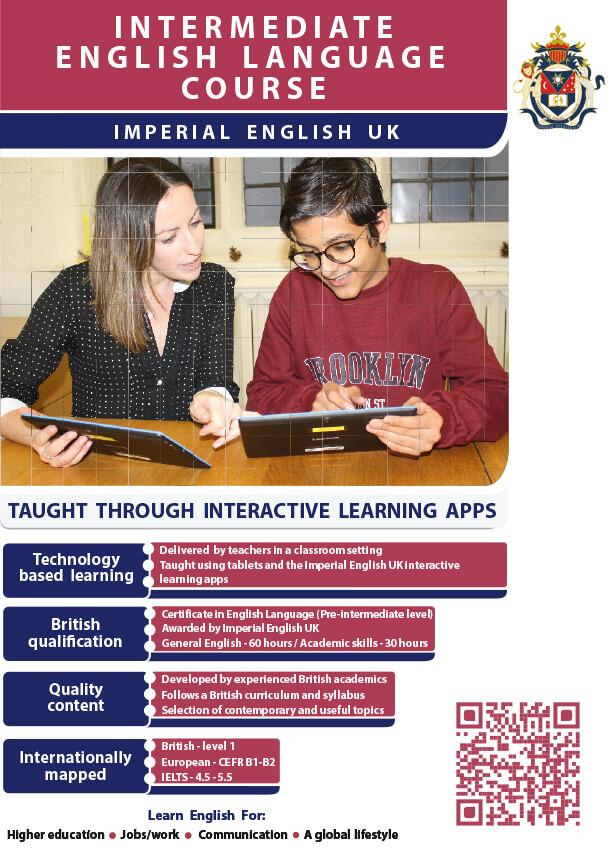 Pre-Intermediate Course Brochure